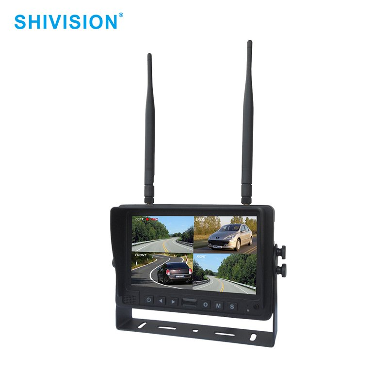Shivision-High-quality Video Camera Monitor | Shivision-m02074ch-7 Inch Car Monitor-2-1