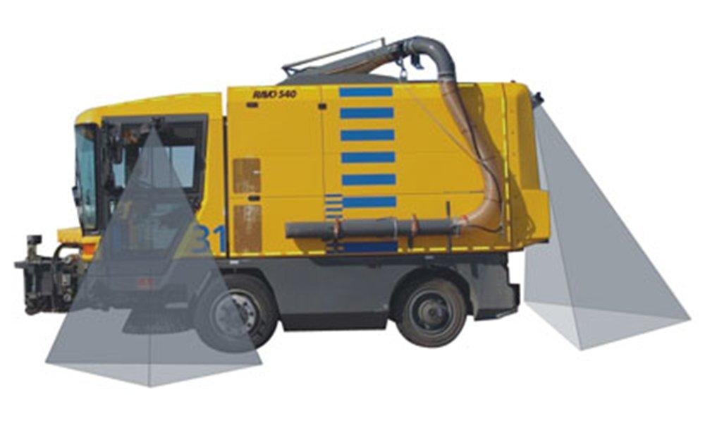 Monitoring system for Refuse Truck