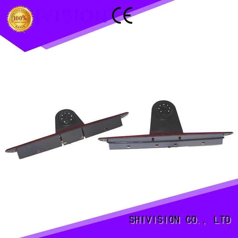 Shivision 1080p rear view mirror backup camera system with certification for tractor