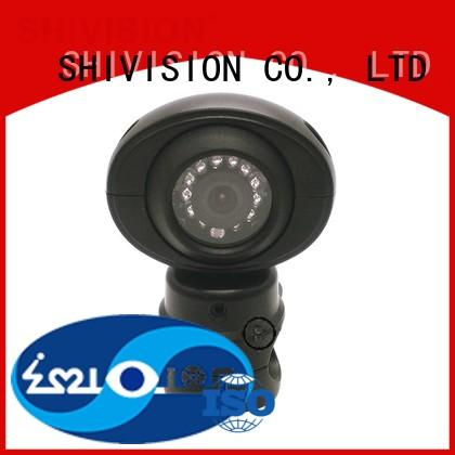 Shivision truck installing backup camera on truck certifications for fire truck