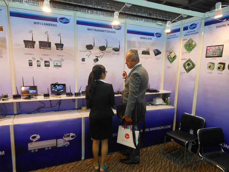 Shivision Global sources electronics showed in Apr 2015 HK