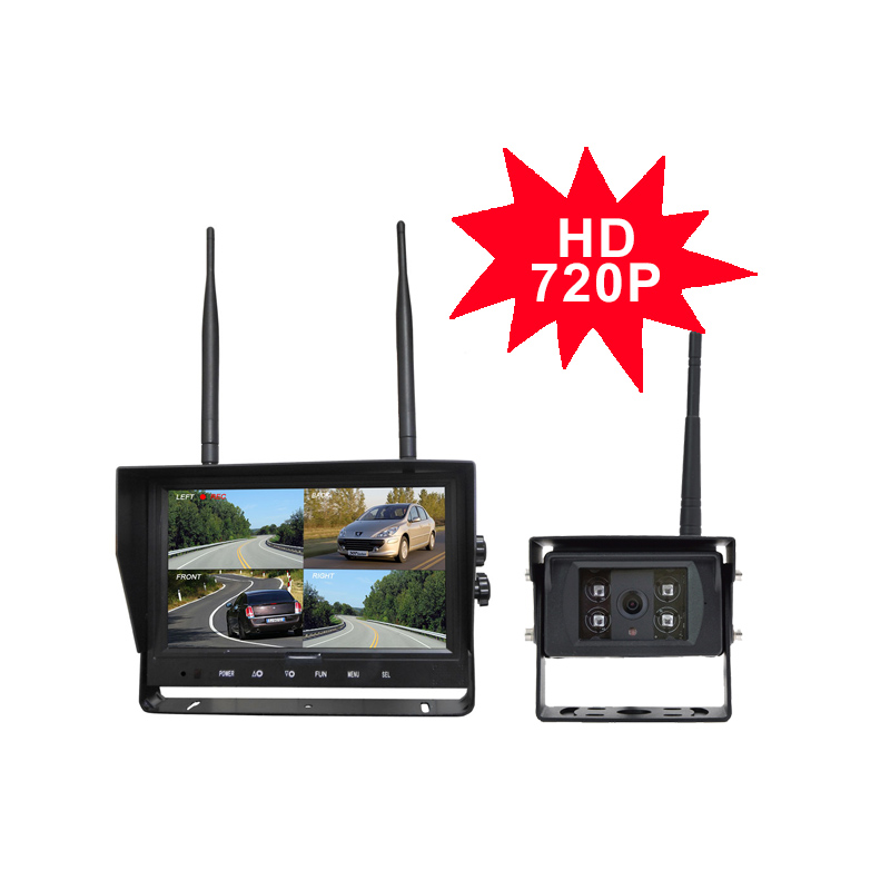 """product-SHIVISION-M12094CH-C2824158AI-9""""24GHz HD 720P Digital Wireless Quad-view System-Shivision-im"""