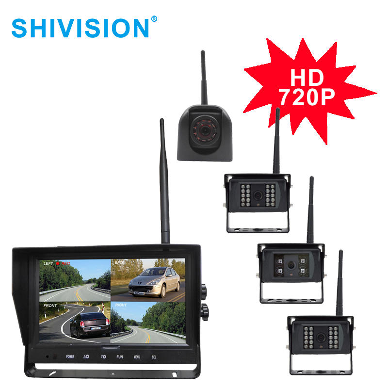 "SHIVISION-M12094CH-C2824158AI-9""2.4GHz HD 720P Digital Wireless Quad-view System"