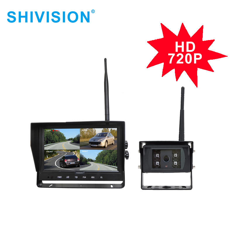 "product-SHIVISION-M12094CH-C2824158AI-9""24GHz HD 720P Digital Wireless Quad-view System-Shivision-im-1"