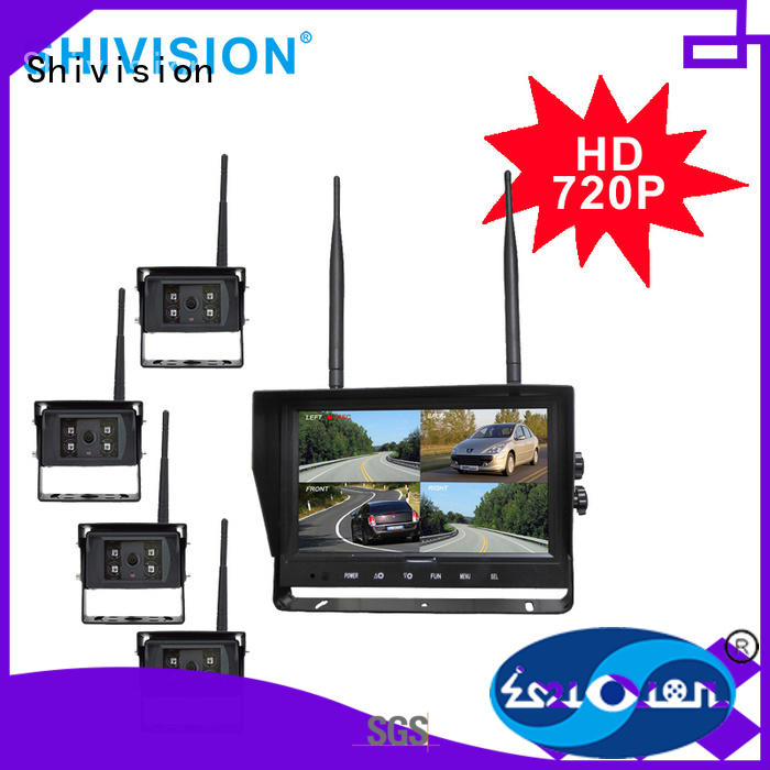 category-Customized 24GHz HD Digital Wireless Quad-view System-Shivision-img