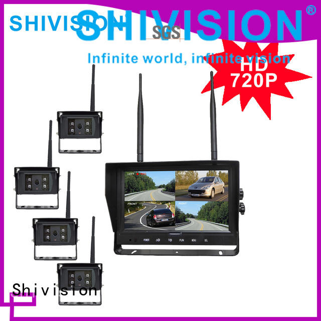 Customized 24GHz HD Digital Wireless Quad-view System-Shivision-img-1