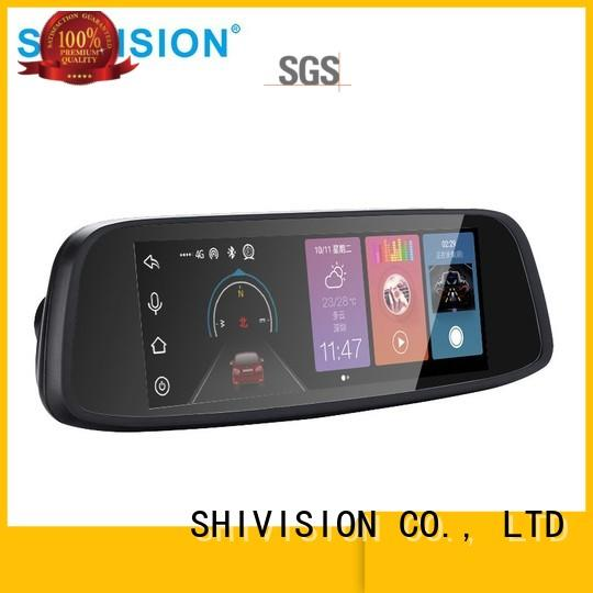 affordable rear view monitor system shivisionm07765 with certification for bus