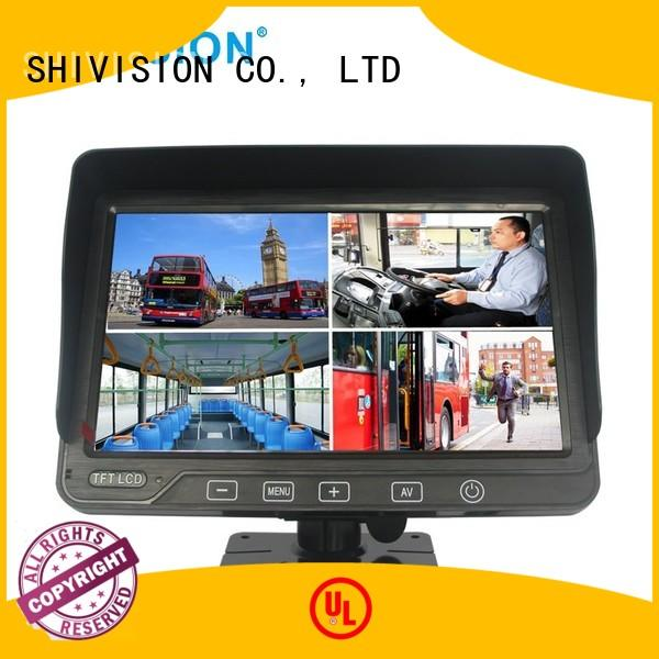 waterproof mirror rear view monitor system car Shivision Brand