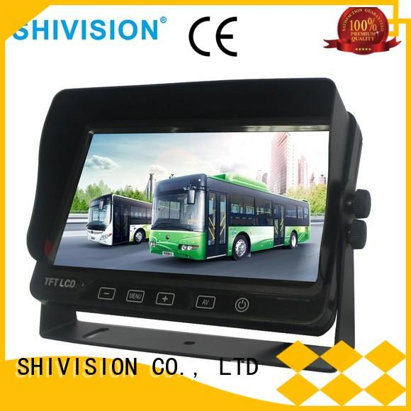 Shivision shivisionm0911110 rear camera monitor with cheap price for fire truck