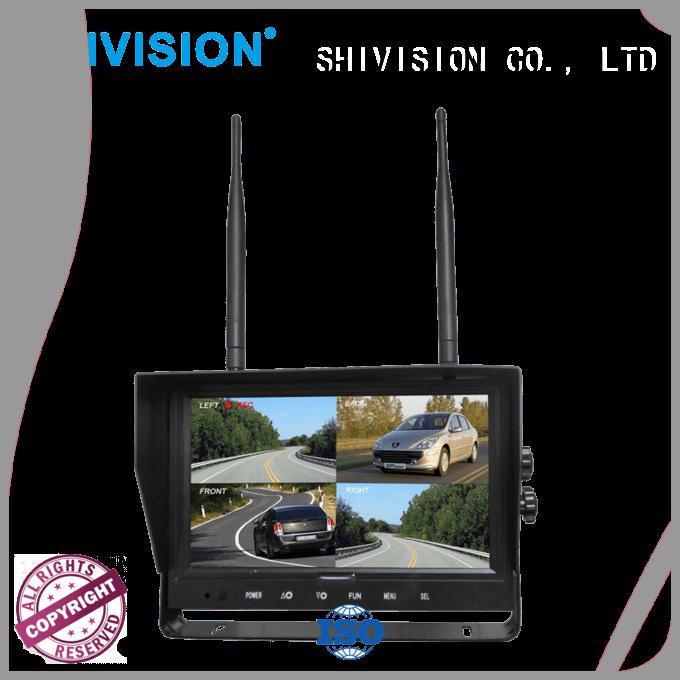 car monitor digital Shivision Brand camera and monitor system manufacture