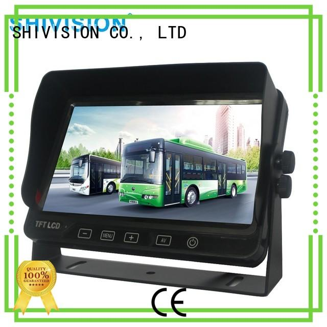 monitor dvr rear view monitor system backup Shivision company