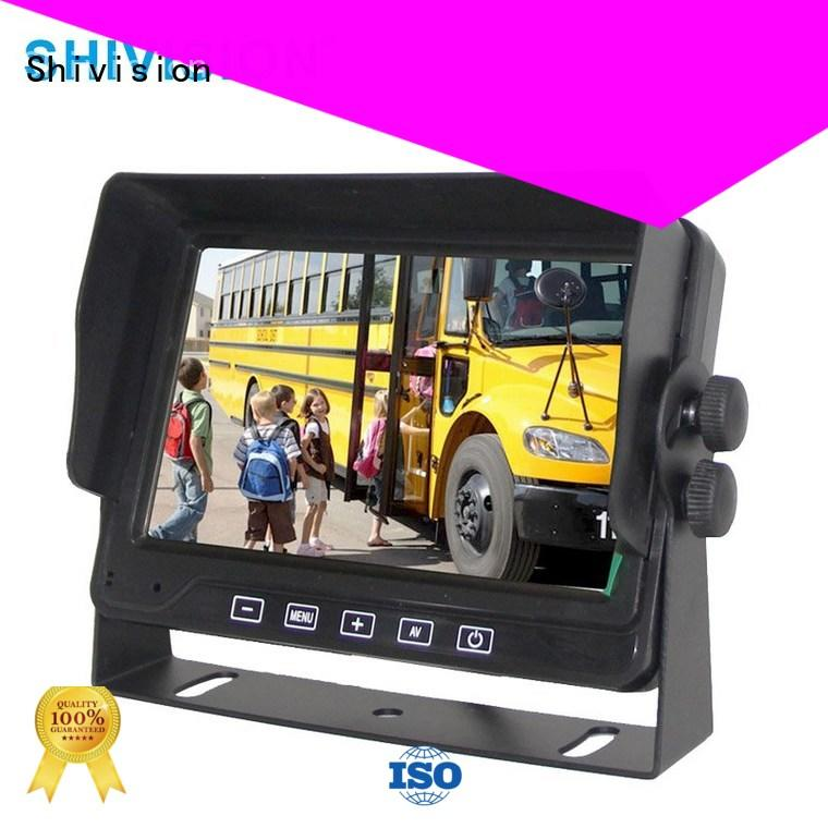 new arrival wireless backup camera with monitor shivisionm0877dvr7 China manufacturer for trunk