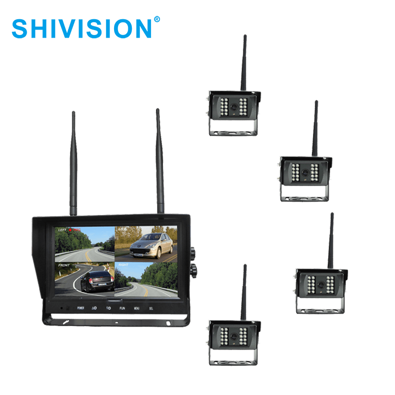 Shivision-High-quality Wireless Video Quad View System | Shivision-m02094ch-c09158saic1348i-9