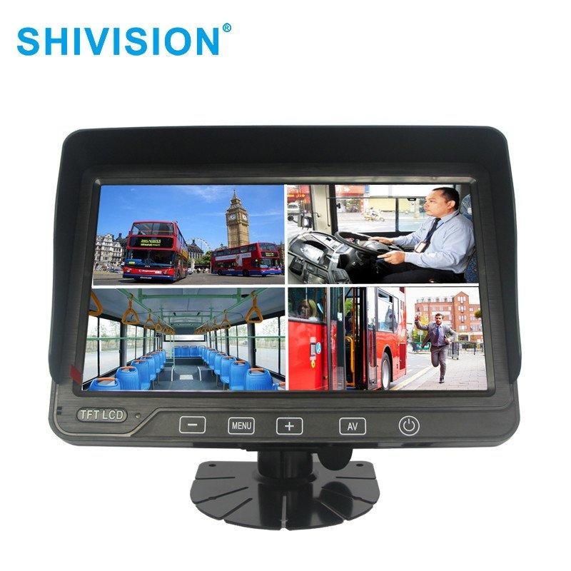Custom car rear view monitor system monitors Shivision