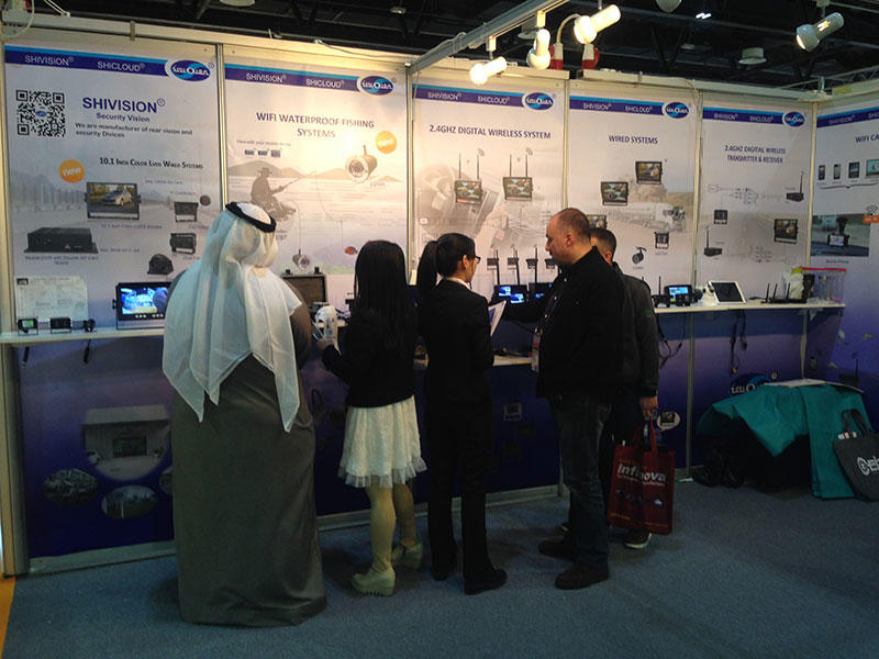 Shivision participated in Intersec in Jan 2016 at Dubai