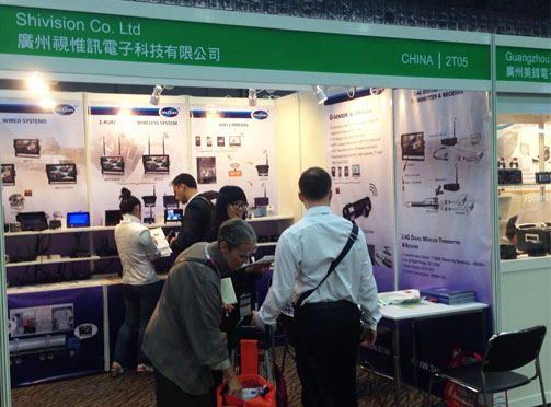Shivision-Shivision shown up in the 2015 Global Sources Security Fair | News-1