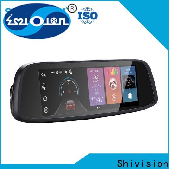 gradely reverse camera mirror monitor shivisionm017910 with cheap price for fire truck