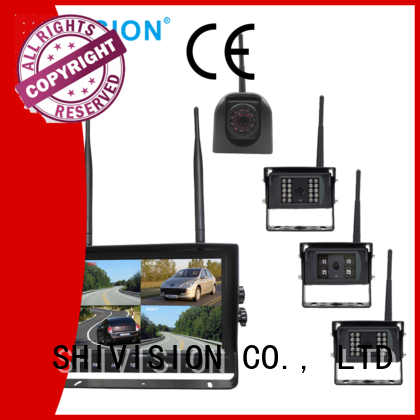 wireless digital 24Ghz OEM quadview hd system Shivision