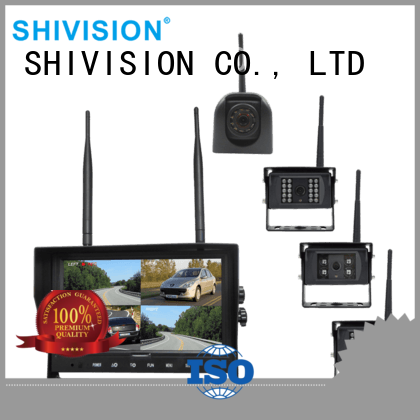 Shivision Brand wireless digital The Newest Upgraded cordless camera with quad view monitor system