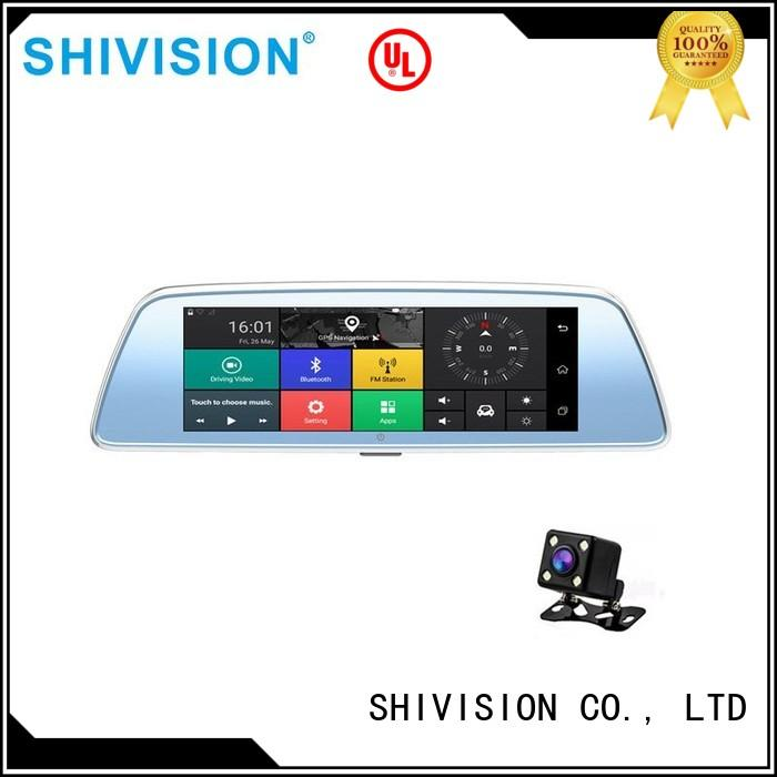 monitors dvr vehicle reverse camera monitor mirror backup Shivision Brand