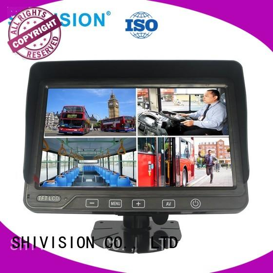 Shivision ahd monitor rear view mirror order now for fire truck
