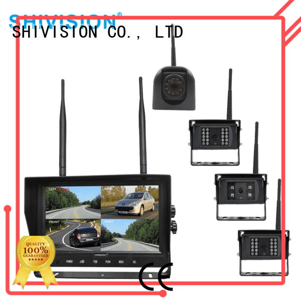 cordless camera with quad view monitor system quadview Bulk Buy The Newest Upgraded Shivision