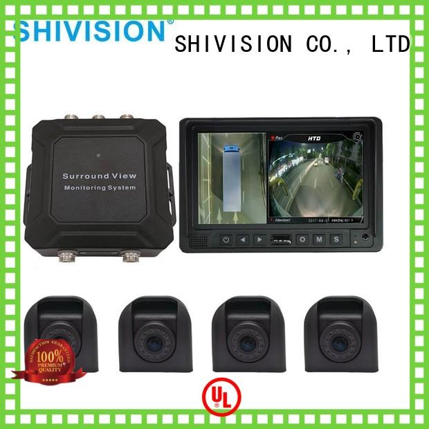 monitoring all around vehicle camera system 360 3d Shivision