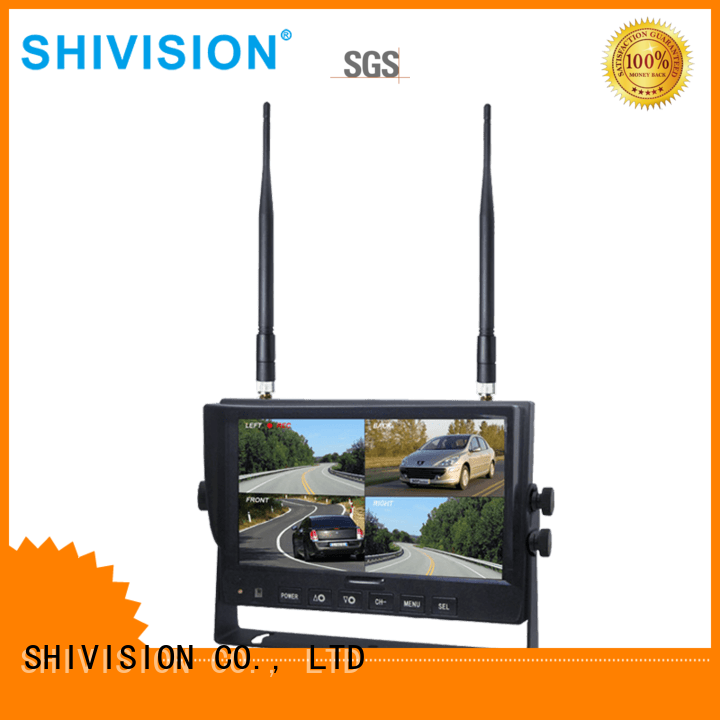 monitor wireless car digital Shivision Brand security camera monitor supplier