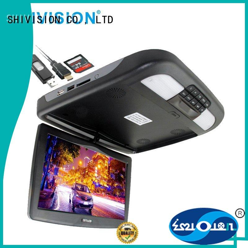 vehicle reverse camera monitor roof mirror backup Shivision Brand