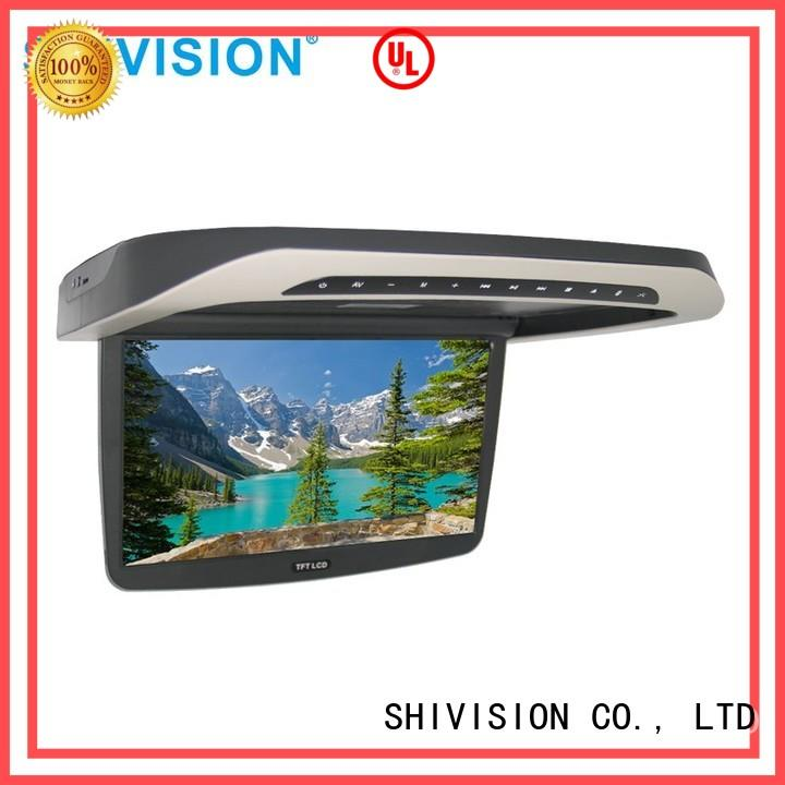 dvr roof monitor vehicle reverse camera monitor Shivision manufacture