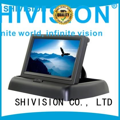 vehicle reverse camera monitor touchcontrol backup Shivision Brand