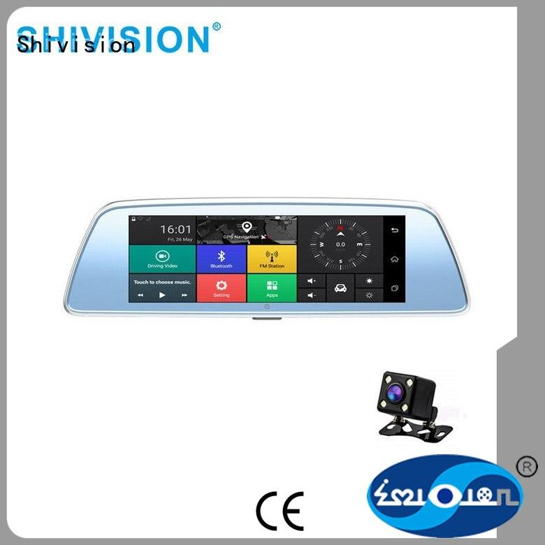 Shivision dvr reverse camera monitor with certification for van