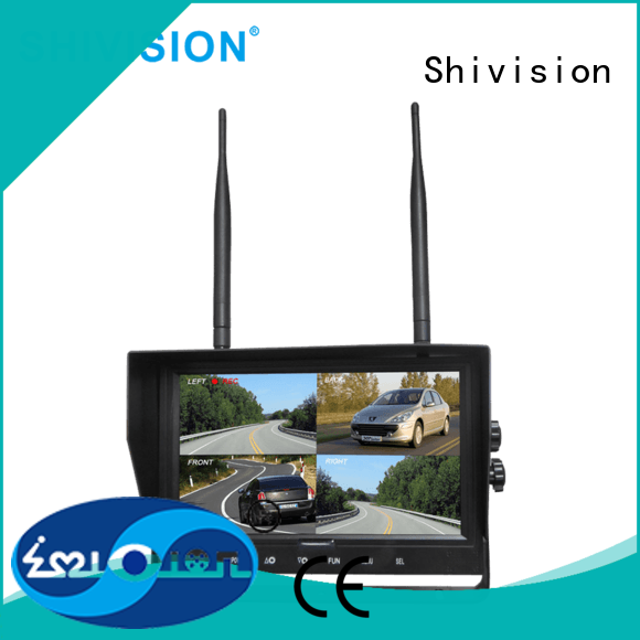 Shivision affordable wireless camera and monitor with certification for van