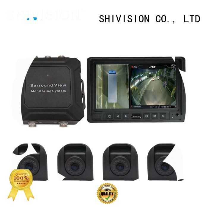 Shivision efficient 360 degree vehicle camera system from China for trunk