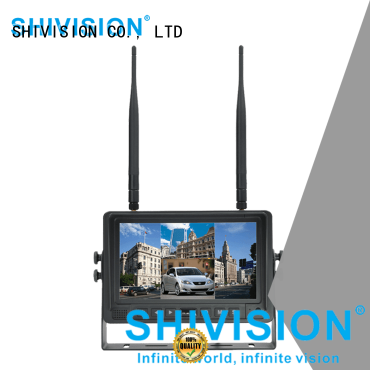 Shivision inexpensive wireless camera with monitor with cheap price for van