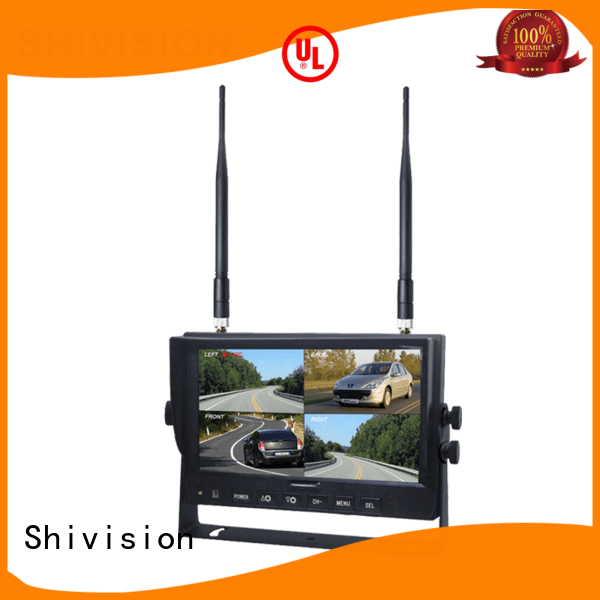 Shivision shivisionm02084ch7 wireless outdoor security cameras with monitor China manufacturer for bus