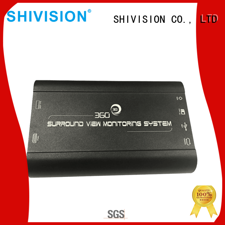 Shivision new-arrival 360 degree bird view camera system for-sale for bus