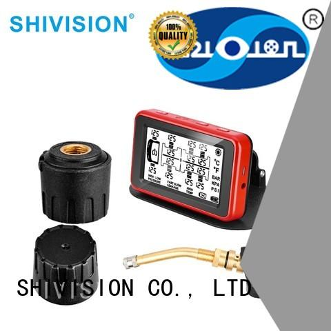 tpms TPMS alarm detector Shivision Brand vehicle tire sensor system factory