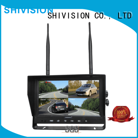 Shivision inexpensive wireless outdoor security cameras with monitor China manufacturer for bus