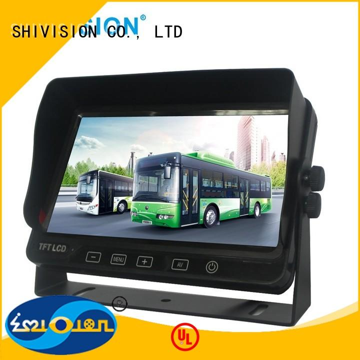 Shivision Brand The Newest Upgraded monitors vehicle reverse camera monitor waterproof supplier