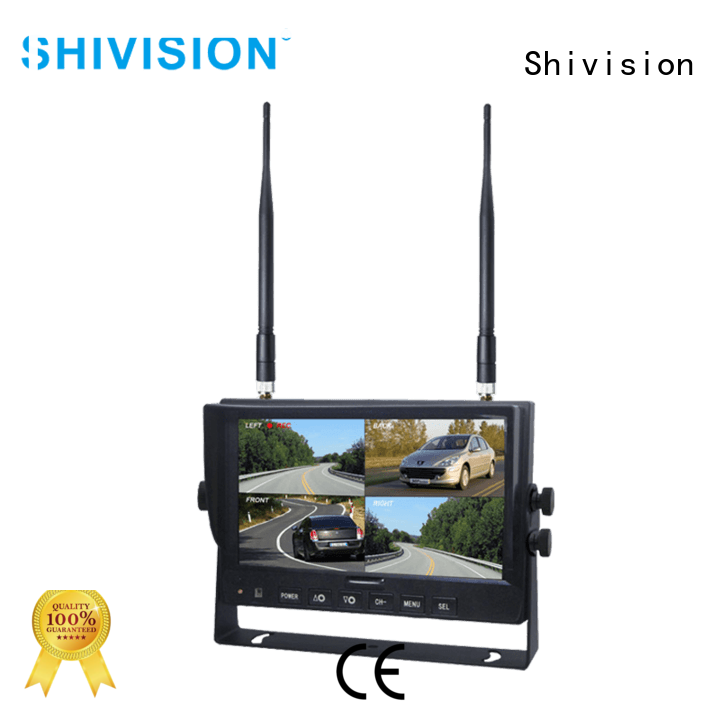 car wireless night vision security camera with monitor digital for fire truck Shivision