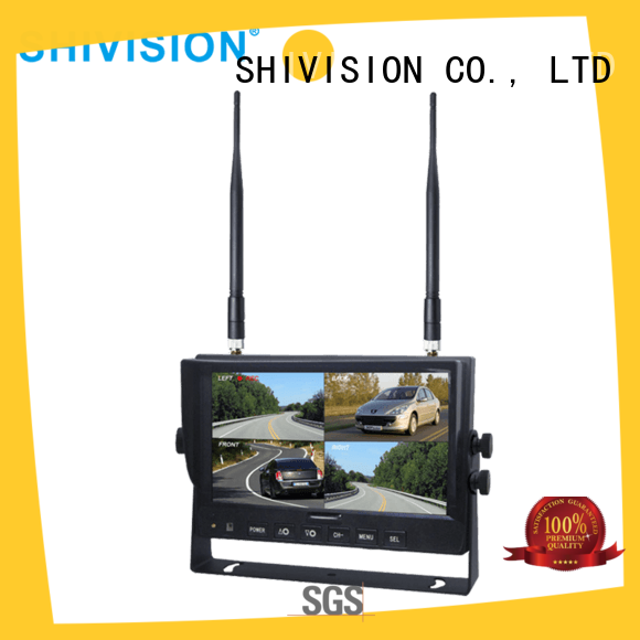 Shivision affordable surveillance camera with monitor with certification for trunk