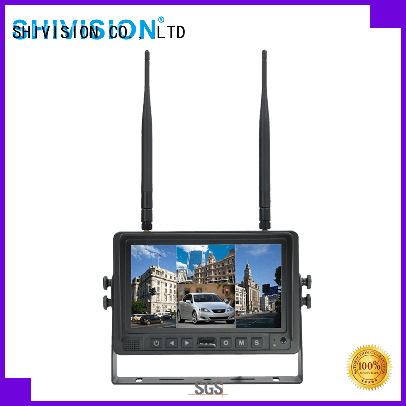 Shivision shivisionm02074ch7 wireless video monitor order now for tractor