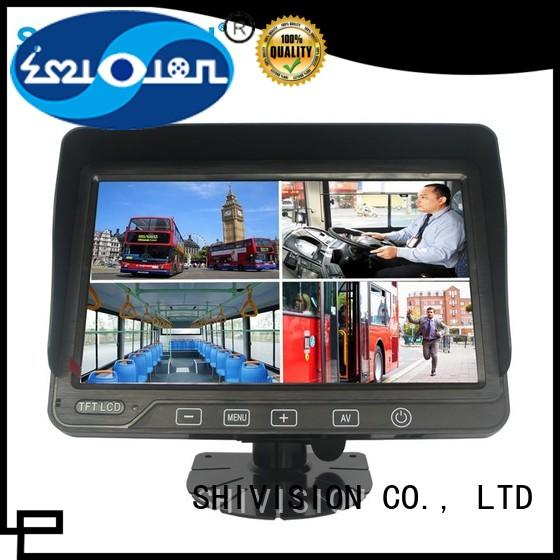 car touchcontrol roof OEM rear view monitor system Shivision