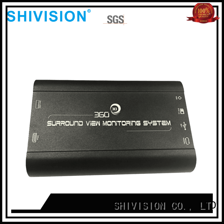 new-arrival 360 degree vehicle camera system shivisions04039hd factory price for bus