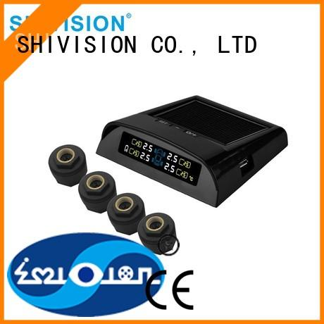 Shivision Brand detection TPMS alarm detector The Newest Upgraded vehicle tire sensor system
