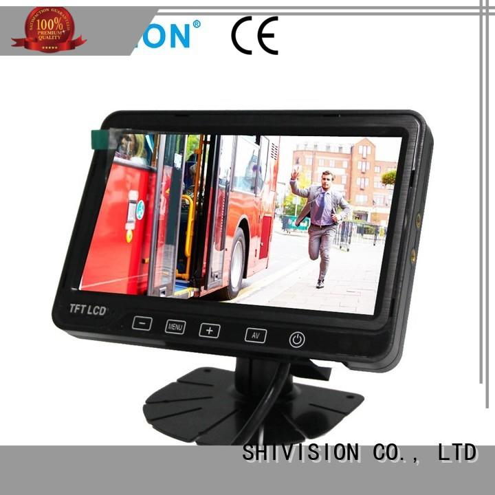 mirror backup rear view monitor system Shivision Brand