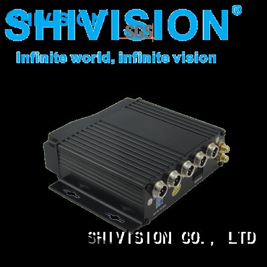 vehicle camera dvr car sd 8ch Shivision Brand