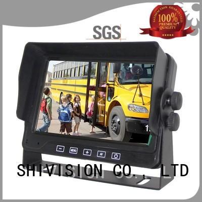 vehicle reverse camera monitor mirror backup Shivision Brand
