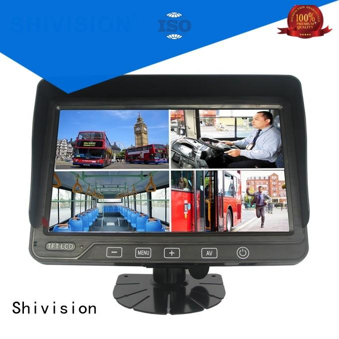 Shivision shivisionm0877dvr7 reverse camera mirror monitor certifications for van